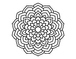 Disegno Di Mandala Petali Di Fiori Da Colorare Acolorecom