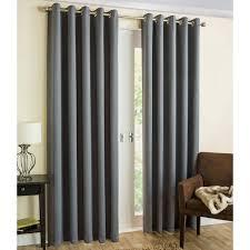 readymade curtains byron herringbone thermal blockout eyelet readymade blackout lining