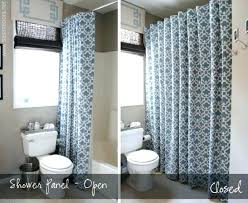 stall size shower curtain and stall size curved shower curtain rod bathroom decoration stall regarding tasty