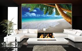 Wall Mural For Living Room Living Room Adorable Ocean Themed Living Room Ideas Living Room