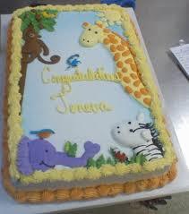 Giraffe Baby Shower Cake  Jungle Theme Cake  YouTubeBaby Shower Safari Cakes