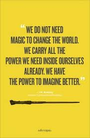 Jk Rowling Quotes New JK Rowling Quote Poster Education Infographics Pinterest