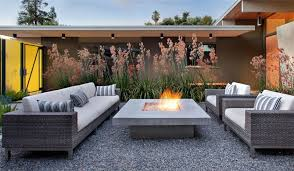 Concrete patio with square fire pit Rectangle Square Fire Pit Concrete Fire Pit Fire Pit Bernard Trainor Associates Monterey Ca Landscaping Network Fire Pit Monterey Ca Photo Gallery Landscaping Network