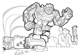 20 printable transformers rescue bots coloring pages arresting bot page