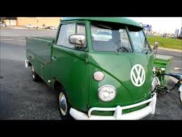 60S VOLKSWAGEN COMBI PICKUP SIGHTING - RARE & RUSTY - YouTube