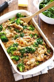 healthy food recipes to lose weight. Simple Recipes Creamy Chicken Quinoa Broccoli Casserole Inside Healthy Food Recipes To Lose Weight R