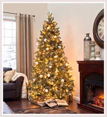 ... Foxy Ideas From Pictures Of White Christmas Trees Decorated : Charming Decorating  Ideas Using Brown Leather ...