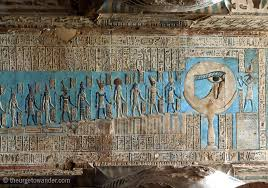 Dendera Chart Egypt Star Gazing In Dendera The Urge To Wander
