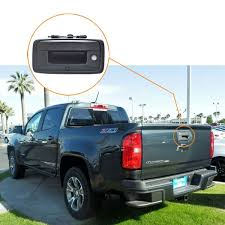 Chevrolet Colorado Backup Camera with Replacement Rear View Mirror ...