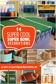Homemade Super Bowl Decorations Getting ready for a Super Bowl party You'll love these super cute 3