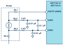 analog front end design for rtd measurements analog devices figure 6 analog input configuration for rtd measurement using ad7124
