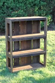 do it yourself pallet furniture. DIY Pallet Bookshelf Do It Yourself Furniture
