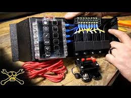 115 best jeep command images on pinterest jeep stuff, jeep Xj Fuse Box Connection Interchangeable how to make a power relay fuse block automotive wiring youtube Breaker Box