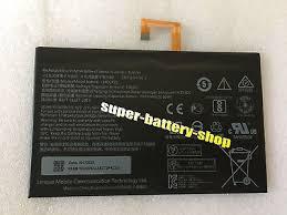 <b>7000mAh new</b> Genuine <b>L14D2P31</b> battery for Lenovo TAB2 A10 ...