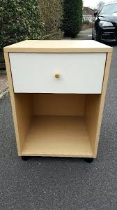 easy diy bedside table plans simple cabinet with a drawer in