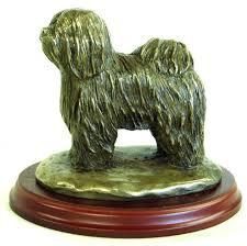 tibetan terrier bronze figurine hand made in england ideal gift 1777327733
