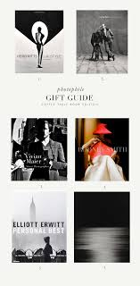 gift guide coffee table photo books