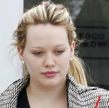 hilary duff actresses without makeup 1
