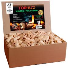 Pure Nature 50 Box Natural Firelighters Made In Germany Firestarters Barbecues And Campfires Stoves Fireplace Fire Starter From Wood Wool