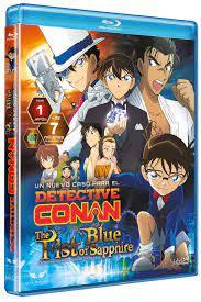 Detective Conan - El puño de Zafiro Azul [Blu-ray]: Amazon.es: Animación,  Tomoka Nagaoka, Animación: Películas y TV