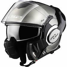 Ls2 Size Chart India Ls2 Ff399 Valient Chrome Flip Up Helmet