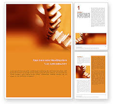 Microsoft Office Word Cover Page Templates Gear Word Template 01959 Poweredtemplate Com
