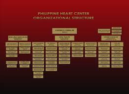 Philippine Heart Center Organizational Chart Accomplishments