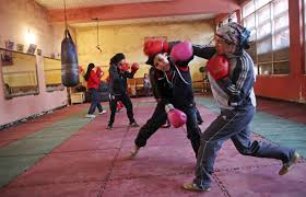 women s boxers train for olympics photos source