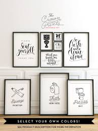 amazing printable bathroom wall art from the crown prints on lots of image for grey and