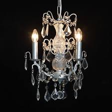 ornate lighting. Image Is Loading French-3-Branch-Antique-Silver-Leaf-Glass-Ornate- Ornate Lighting H