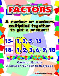 Factor Anchor Chart Worksheets Teaching Resources Tpt