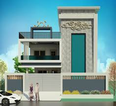 Front Elevation Designs For Duplex Houses In India Exterior Architectural Design House House Elevation