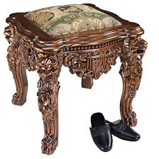 35lbs european lord raffles lion leg gothic gold stool