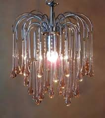teardrop glass chandelier teardrop glass chandelier c by worked from from the premier brass and glass teardrop glass chandelier