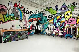 office graffiti wall. T-Shirt Startup Threadless\u0027s Offices: Almost As Cool Its Profitable, Multi-Million Dollar Business Office Graffiti Wall A
