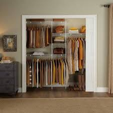 simple solutions for closet organization the rubbermaid direct mount