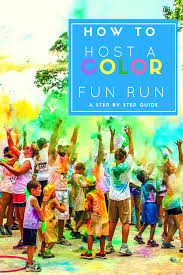 how to host a color fun run