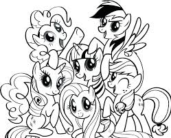 My Little Pony Sea Ponies Coloring Pages The Movie To Coloring