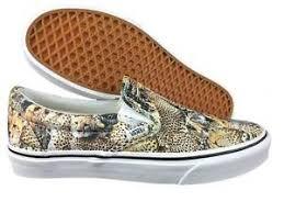vans 8 5. image is loading vans-slip-on-cheetah-print-brown-unisex-shoe- vans 8 5