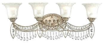 vintage vanity lighting. vanities retro vanity lighting antique traditional silver and crystal 4 light 32 vintage h