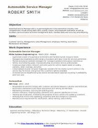 Auto Service Manager Resumes 14 15 Auto Service Manager Resume Southbeachcafesf Com