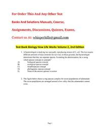 inheritance patterns of white eye and vestigial winged mutations  test bank biology how life works volume 2 2nd edition