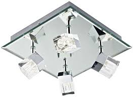 led bathroom ceiling lights. Dar Logic Modern 4 Light LED Bathroom Ceiling Spotlight Chrome Led Lights B