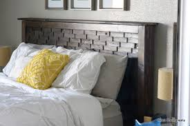Gorgeous Wood Headboards Queen Ana White Wood Shim Cassidy Bed Queen Diy  Projects