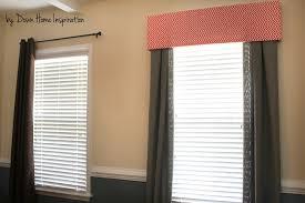 er friendly no holes no damage 10 and 10 minute diy window valance down home inspiration