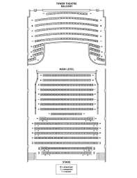Tower Theater Virtual Seating Chart Seating Chart For Tower Theatre