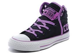 converse winter boots. black converse vampire diaries purple serif padded collar chuck taylor all star high tops winter cotton boots