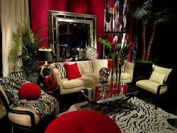 African Style In The Interior Design. Safari Living RoomsRed Living RoomsZebra  Living RoomLiving ...