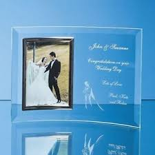 personalised engraved glass photo frame 15th crystal wedding Crystal Wedding Invitation Frame image is loading personalised engraved glass photo frame 15th crystal wedding Rhinestone Wedding Invitations