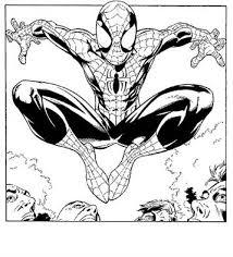 Kids N Fun 27 Kleurplaten Van Spiderman